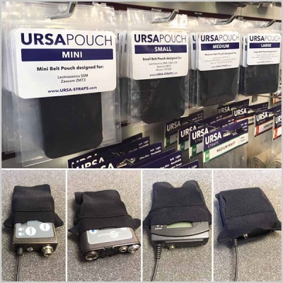 URSA Transmitter Pouch for Belts or Bras (Pouch Only)